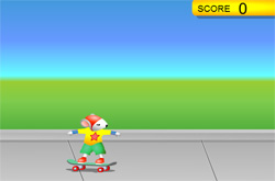 Stuart little skateboard